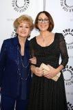 Debbie Reynolds, Patricia Heaton fotografie stock