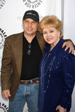 Debbie Reynolds, Todd Fisher Stock Photos