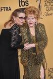 Debbie Reynolds u. Carrie Fisher lizenzfreie stockfotografie