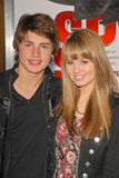Debby Ryan,Gregg Sulkin Royalty Free Stock Images