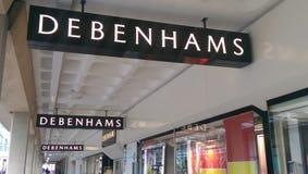 Debenhams Cardiff Stock Photography