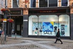 Debenhams Department Store Stock Photography