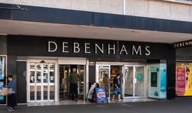 Debenhams sklepu pierzeja zdjęcia stock