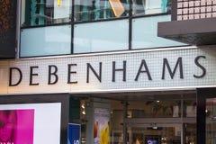 Debenhams Store Royalty Free Stock Image