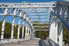 Debilly footbridge, Paris. Stock Images