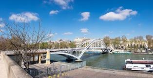 Debilly Footbridge in Paris, France Stock Photos