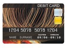 Debit card Royalty Free Stock Image
