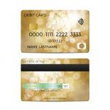 Debit card. On a white background. Vector illustration vector illustration