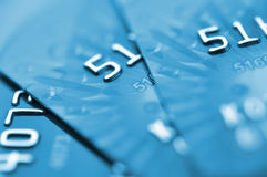 Debit cards. Stock Images