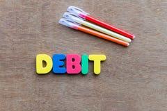 Debit Stock Image