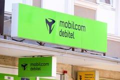 Debitel di Mobilcom Fotografia Stock