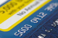 Debitkarte 2 Lizenzfreie Stockbilder