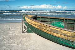 Debki, beach in poland Royalty Free Stock Photography