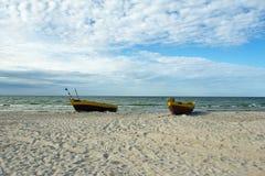 Debki, spiaggia in Polonia Fotografia Stock