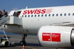 deboarding szwajcar Obraz Stock