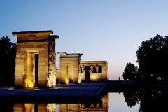 Debod Egyptian Temple Stock Photography