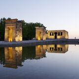Debod Egyptian Temple Royalty Free Stock Photo