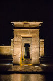 Debod at night Stock Images