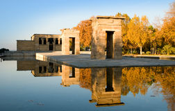 Debod Tempel Stockfotos