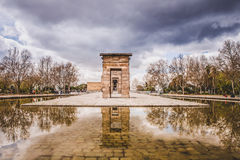 Debod-Tempel Madrid Stockfoto