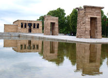 Debod temple Stock Images