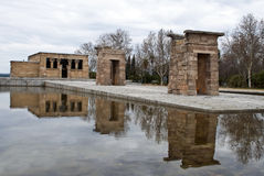 Debod temple Stock Image