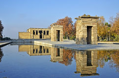 Debod temple Royalty Free Stock Photo