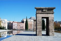 Debod Temple In Madrid 3 Royalty Free Stock Image