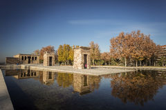 Debod Temple. Stock Photos