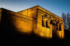 Debod temple Royalty Free Stock Image