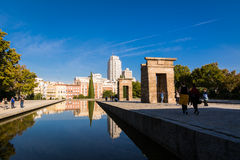 Debod Temple, Madrid, Spain Royalty Free Stock Image
