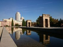 Debod Temple, Madrid Stock Photos