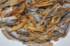 Deboned and cleaned Shawa fish Herring. Deboned and cleaned Shawa fish Yoruba for smoked or/and dried Herring/sardine/bonga fish following removal of the bones stock photography