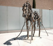 Deborah Butterfield horse sculpture at the Portland Art Museum Royalty Free Stock Photo