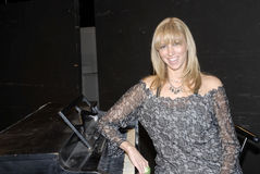 Deborah Gibson appearing. Deborah Gibson at the Camp Electric Youth Camp at the Howard Fine Acting Studio in Hollywood in April 2008 stock photo