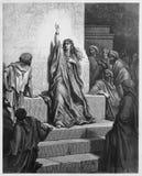 Deborah, godsdienstcijfer royalty-vrije illustratie
