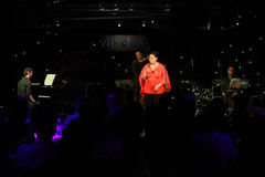 Deborah J. Carter führte Zagrebs im Promi-Verein durch Stockfoto