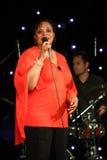 Deborah J. Carter se realizó en el club del VIP de Zagreb Imagen de archivo libre de regalías