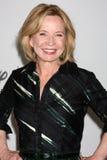 Deborah Jo Rupp komt bij de van de de Zomerpers van ABC van 2010 de Reispartij aan Stock Afbeelding