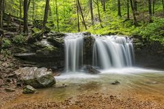 Free Debord Falls At Frozen Head State Park Stock Images - 121602384