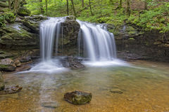 Debord Falls At Frozen Head State Park Royalty Free Stock Photography