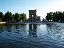 debot ναός της Ισπανίας Στοκ Φωτογραφία