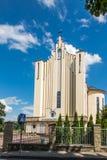 Debowiec, Polen - Juli 20, 2016: Basiliek van Virgin van Ons Royalty-vrije Stock Afbeelding