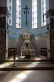 Debowiec, Polen - Juli 20, 2016: Een deel van het binnenland van de Bedelaars Royalty-vrije Stock Foto's