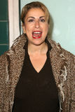 Debra που βρωμίζει, Ρώμη Maffia, Megan Mullally Στοκ Εικόνα