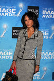 Debra Matin Chase arrives at the 2011 NAACP Image Awards Nominee Reception Stock Photography