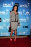 Debra Matin Chase arrives at the 2011 NAACP Image Awards Nominee Reception Royalty Free Stock Photos