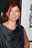 Debra Messing Arkivbild