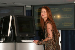 Debra Messing royaltyfri bild