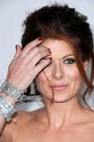 Debra Messing royaltyfria bilder